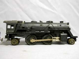 Lionel Lines 1110 Steam Locomotive 2 4 2 with Tender USA