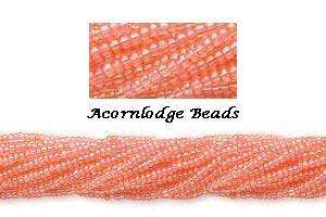 ALSB72 CZECH 11/0 Seed Beads SOL GEL RAINBOW ROSE Hank