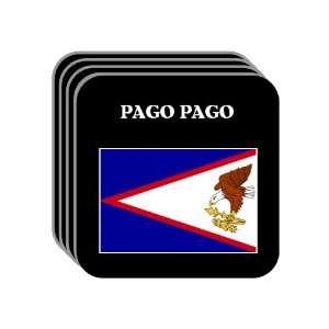 American Samoa   PAGO PAGO Set of 4 Mini Mousepad Coasters