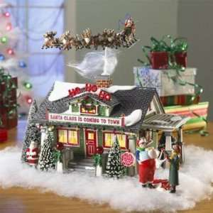 Village Christmas Lane The Santa Claus House 55602