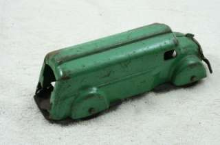 WYANDOTTE PRESSED STEEL GAS OIL DELIVERY TOY TRUCK