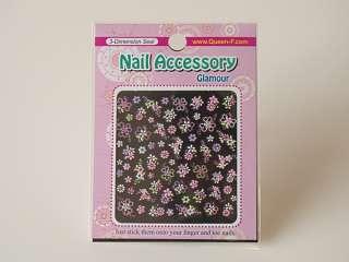 3D Design Nail Art Stickers, Variety show, 2+2 (Korea)