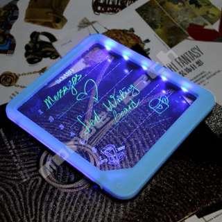 LED Display Message Menu Sign Writing Board +Marker Pen