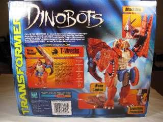 Transformers Beast Wars Beast Machines T Wrecks MIB