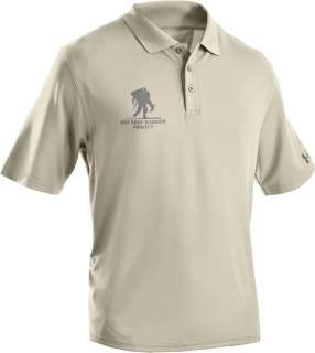 UNDER ARMOUR HEATGEAR WOUNDED WARRIOR PROJECT POLO NVY