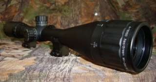 Leapers 4 16x50 PX RGB Rifle Scope, Lens Caps, Sunshade 4712274521049