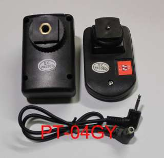 WanSen new PT 04 GY 4 Channels Wireless/Radio Flash Trigger SET with 1