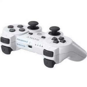 Wireless Bluetooth Controller Sony PS3(white)