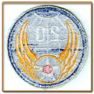 WW2 US Army 20th Air Force Patch (Cut edge, White back)