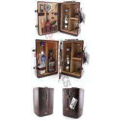 Premium Wine Travel Case – Portable Home Bar