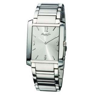 Kenneth Cole New York Mens Silver Dial Bracelet Watch