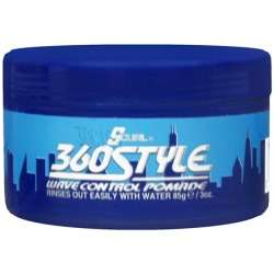 Lusters Scurl 360 Style Wave Control Pomade 3oz