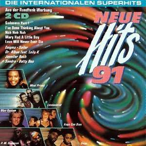 Sandra, Snap, Blue System, Bad Boys Blue.. Neue Hits 91 Music
