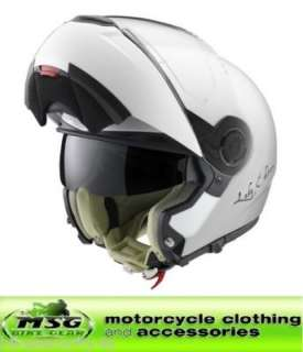 SCHUBERTH C3 LADIES PEARL FLIP MOTORCYCLE HELMET MEDIUM