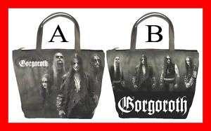 Gorgoroth Rock Band Hot Bucket Bag Handbag Purse #PICK1