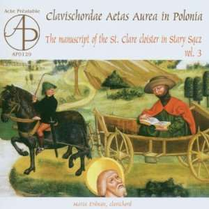 Clavischordae Aetas Aurea in Polonia   The manuscript of