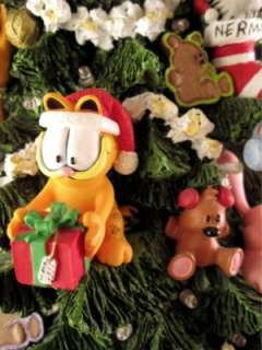 The Garfield Christmas Tree Danbury Mint 14 Lights Up