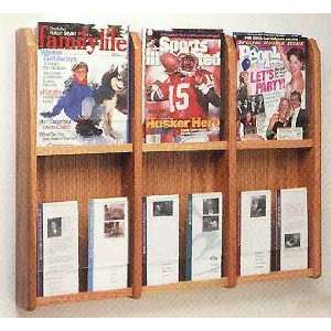 6 Magazine/12 Brochure Pocket Rack: Office Products