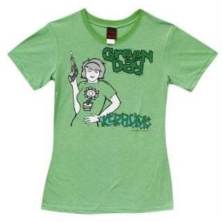 Green Day   Retro Dookie T Shirt in Indigo by Unknown