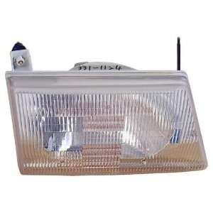 Aftermarket Replacement Composite Headlight Headlamp Assembly Clear