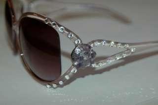Bling Sunglasses Swarovski Crystal Elements & Turquoise Stone 400UV