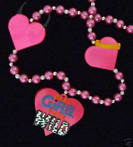GOOD GIRLS GONE WILD MARDI GRAS COSTUME HEART HORNS |