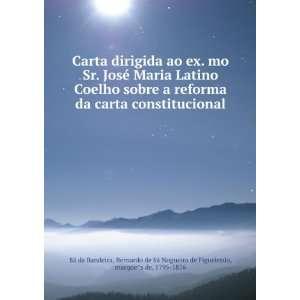 Carta dirigida ao ex. mo Sr. José Maria Latino Coelho