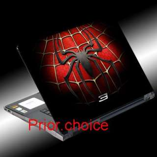 RED SPIDERMAN NOTEBOOK LAPTOP COVER SKIN STICKER DECAL