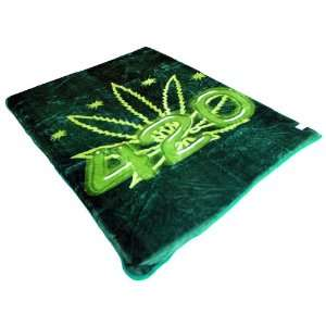 420 Weed Marijuana Cannabis Mink Blanket Full/Queen Size