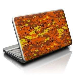 : Netbook Skin (High Gloss Finish)   Digital Orange Camo: Electronics