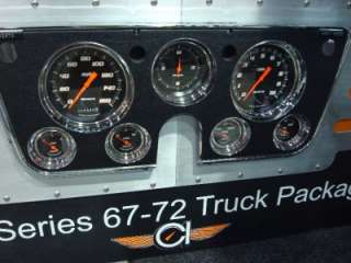 1967 68 69 1970 71 72 CHEVY TRUCK ELECTRONIC GAUGES