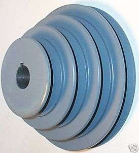MAS63x3/4 6 5 4 3 OD 3/4 Bore Cast Iron A Step Pulley