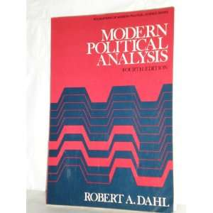 Political Analysis Robert Dahl 9780135969656  Books