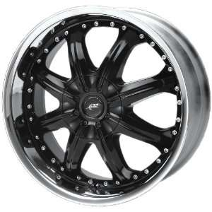 Dale Earnhardt JR Octane DJ3503 Gloss Black Wheel with Machined Lip