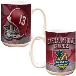 Alabama Crimson Tide 2011 Capital One Bowl Champions White