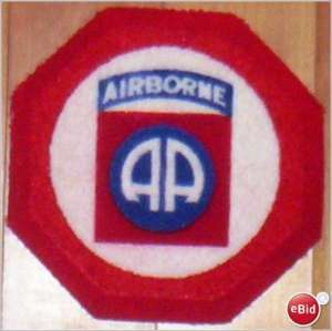 US Army 82nd Airborne Division All American Cup Coaster