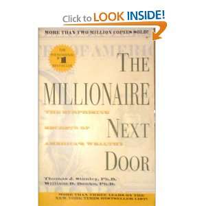 Next Door: Ph.D and William D. Danko, Ph.D. Thomas J. Stanley: Books
