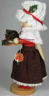 2007 SIGNED KARLA STEINBACH NUTCRACKER MRS. CRATCHIT NIB