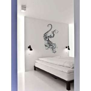 Tiger Climbing Vinyl Wall Decal Sticker Graphic