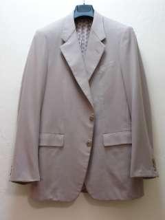 Carroll & Company Beige Cashmere Sports Coat USA 42 L