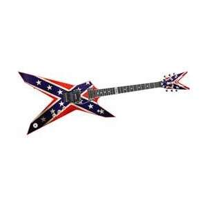 Dean Dimebag Dixie Rebel Electric Guitar Musical