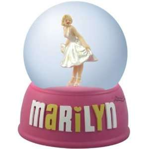 Marilyn Monroe White Dress Snow Globe
