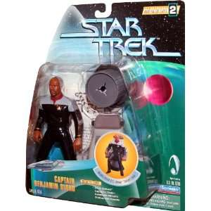 CAPTAIN BENJAMIN SISKO Star Trek Deep Space Nine 1998 Warp Factor