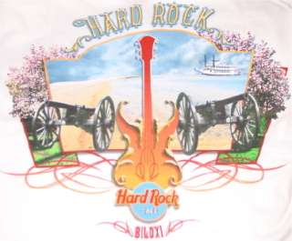 Hard Rock Cafe BILOXI 2005 City Tee T SHIRT MWMT MEDIUM