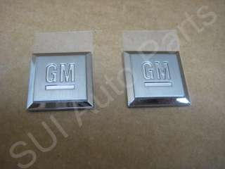 New Chevy GMC Cadillac Mark Emblems Badge GM Logo Decal OEM GM (C33 3z