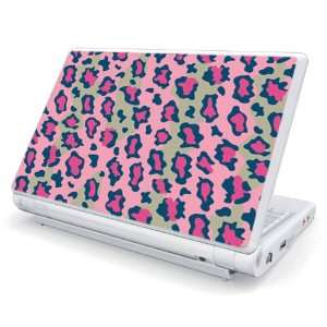 Pink Leopard Design Skin Cover Decal Sticker for Dell Mini