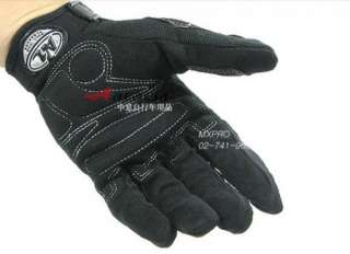 Cycling Bike Bicycle Nylon full finger gloves Size M  XL BLACK
