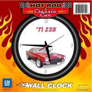 1971 Chevy Camaro Z28 12 Wall Clock   Chevrolet, Hot Rod