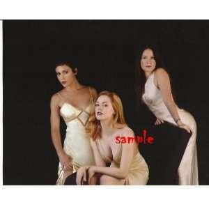Charmed Alyssa Milano Holly Marie Combs Rose McGowan in White Gowns
