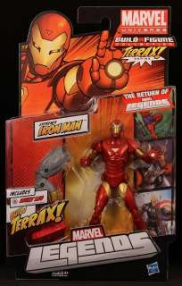 HASBRO 6 SCALE MARVEL LEGENDS SERIES 1 IRON MAN ACTION FIGURE MOC NEW